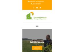 Website sijbenga.nl mobiel