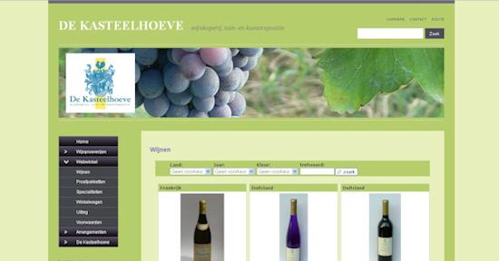 Webshop Kasteelhoeve
