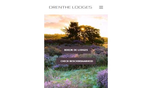 Drenthe Lodges mobiele versie